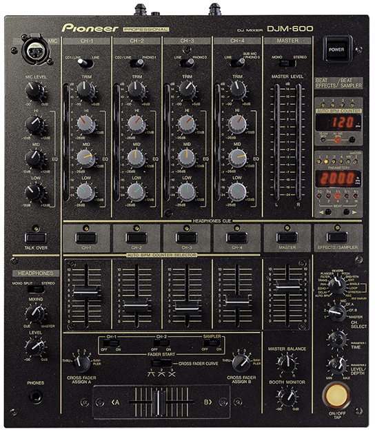 Pioneer mengpaneel DJM 600