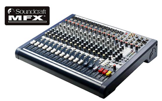 Soundcraft MFX 12 mengtafel