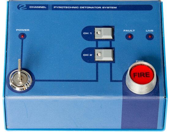 2channel pyrotechnic detonator system_W3R8219