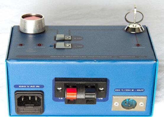 2channel pyrotechnic detonator system_W3R8220