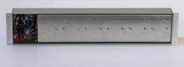 6x schuko reart schakel unit 19inch_W3R9205