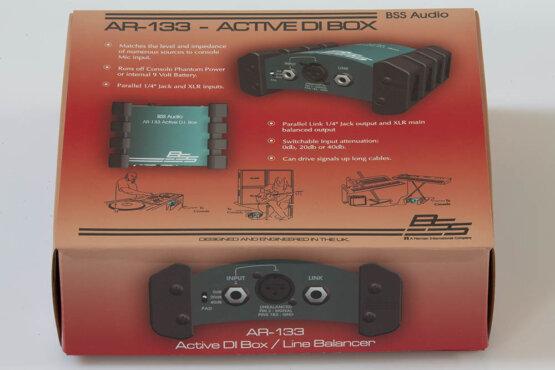 BSS AR-133 Active D.I. Box_W3R9154
