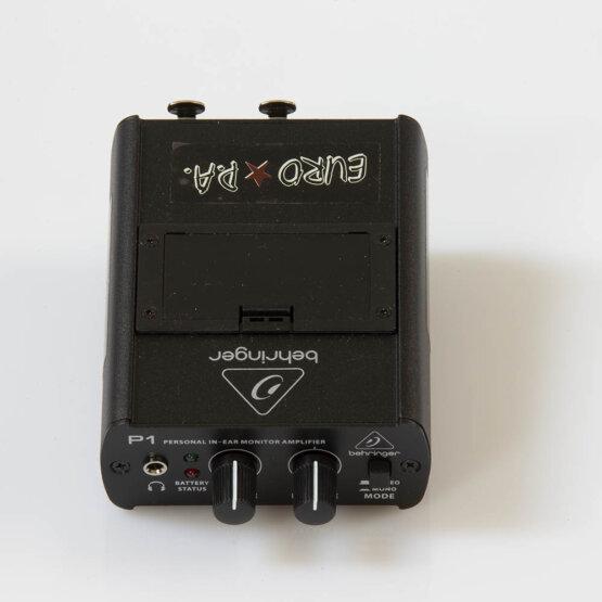 Behringer P1 powerplay personla in-ear monitor amplifier_W3R9156
