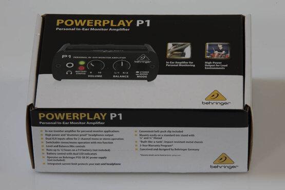 Behringer P1 powerplay personla in-ear monitor amplifier_W3R9157