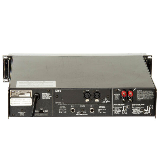 Crown Macro-Tech 601_W3R8820