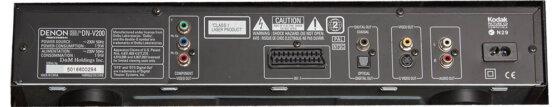 Denon DVD player DN-V200_W3R8374