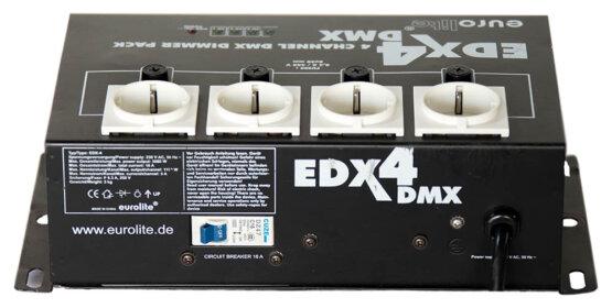 EuroLite EDX4 4 channel dmx dimmer pack_W3R8529