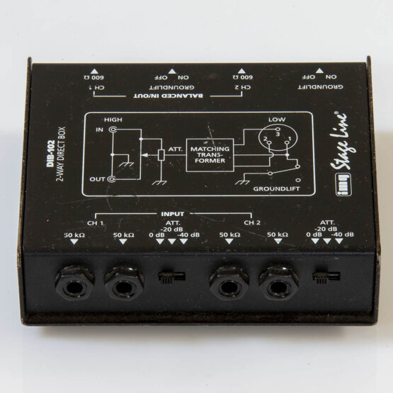 IMG Stage Line DIB-12 2-way Direct Box_W3R9166