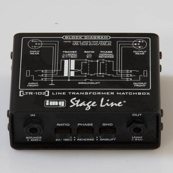 IMG Stage Line LTR-102 Line Transformer matchbox_W3R9148