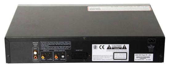 Kiss DVD player DP540_W3R8372