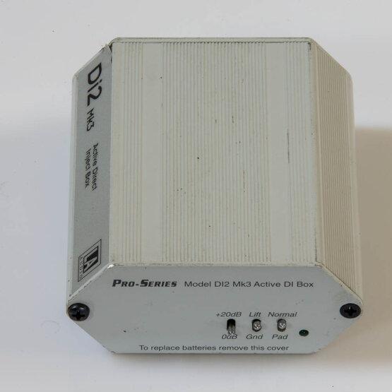 LA Audio Di2 mk3 Active Direct Inject Box_W3R9168