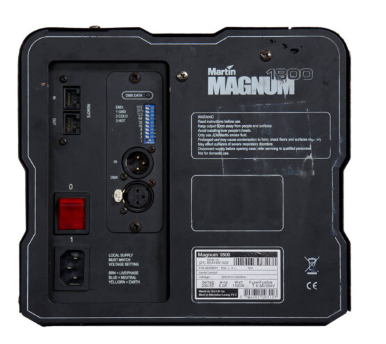 Martin Magnum 1800 rookmachine_W3R8060