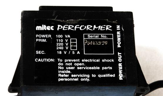 Mitec Performer power supply_W3R8441