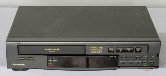 Panasonic NV-HD90 VHS recorder_W3R8843
