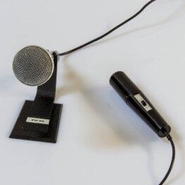 Piezo DX-242 dynamic microphone_W3R9184