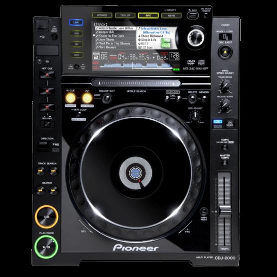 Pioneer CDJ 2000 cd en usb speler