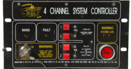 Pyrotechnica Stage FX 4ch System Controller_W3R8239