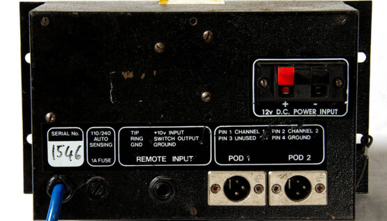 Pyrotechnica Stage FX 4ch System Controller_W3R8240