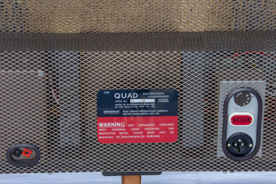 Quad Electrostatic loudspeaker_W3R8882