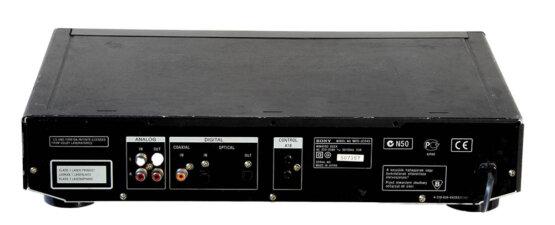 Sony MDS-JE640 MD speler_W3R8405