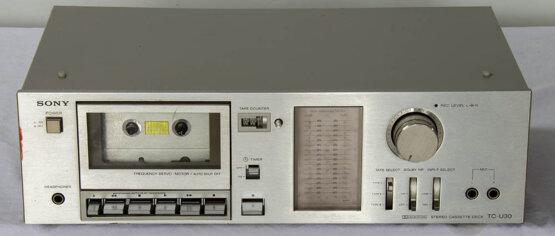 Sony TC-U30 casette deck_W3R8851