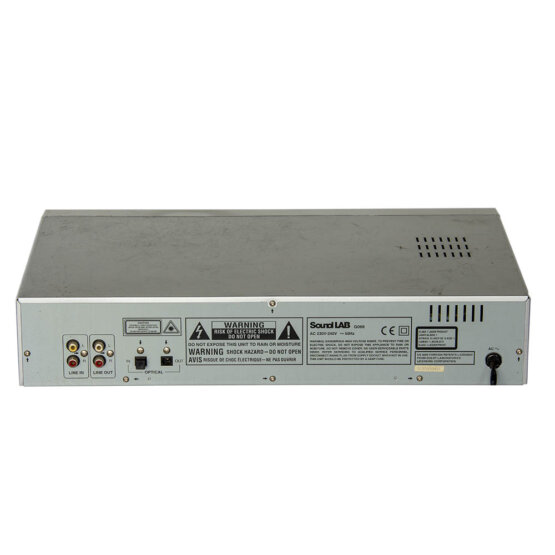 Sound Lab G066 cdmd speler_W3R8916