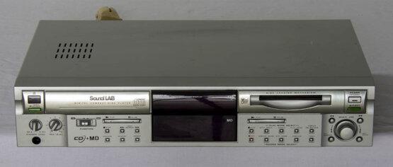 SoundLab CD+MD speler_W3R8849