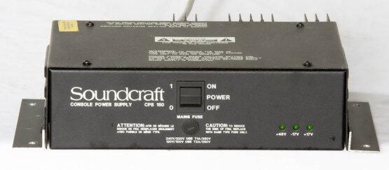 Soundcraft CPS 150 power supply voor bv Delta_W3R8823