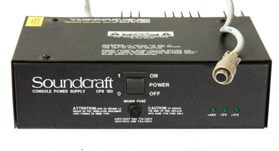 Soundcraft CPS150 powersupply oa Delta DLX_W3R8237