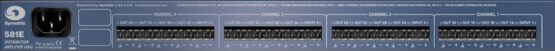 Symetrix 581E Distribution Amplifier back