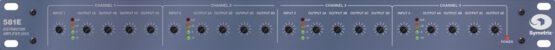 Symetrix 581E Distribution Amplifier front