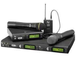 Electro Voice UHF RE-1 met RE510 handheld